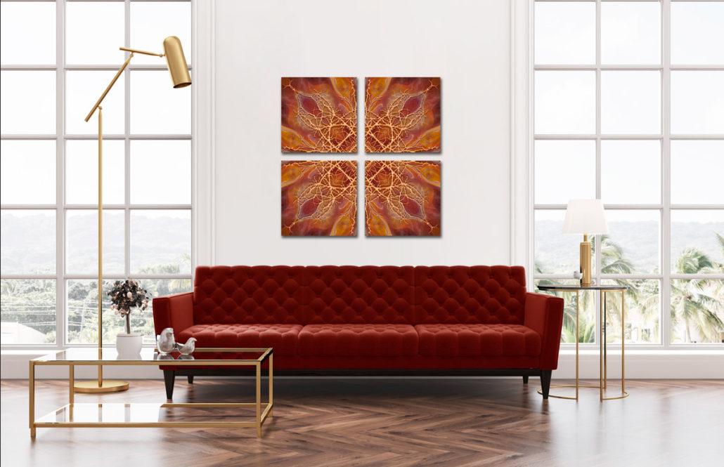 Orange Glass Gallery